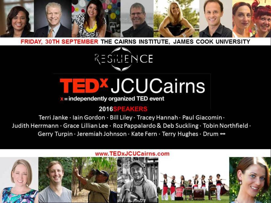 speakers2016tedxjcucairns